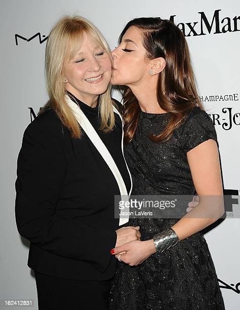 Actress Gia Mantegna and mother Arlene Vrhel attend the 6th annual Women In Film preOscar cocktail party at Fig Olive Melrose Place on February 22...