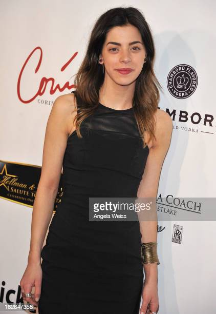 Actress Gia Mantegna attends the Hellman Walter's 'Salute To The Stars' Oscar after party at Andaz on February 24 2013 in West Hollywood California