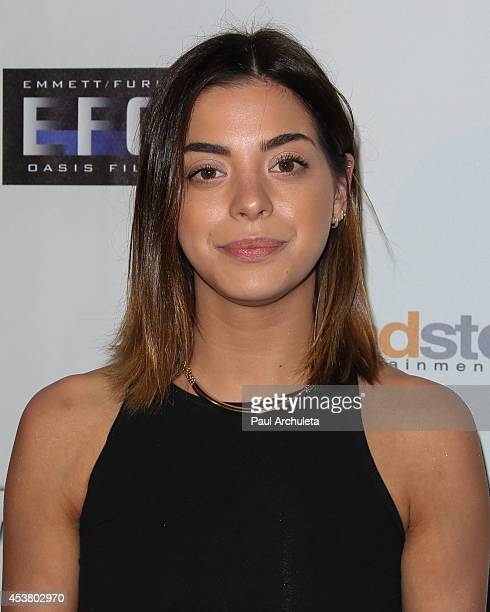 Actress Gia Mantegna attends the premiere of 'The Prince' at TCL Chinese 6 Theatres on August 18 2014 in Hollywood California