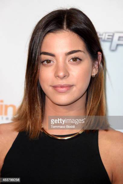 Actress Gia Mantegna attends the 'The Prince' Los Angeles premiere held at the TCL Chinese 6 Theatres on August 18 2014 in Hollywood California
