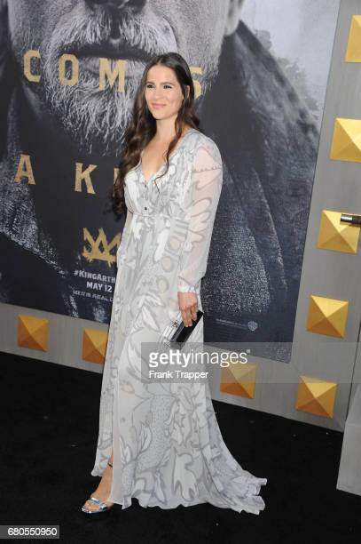Actress Gianna Simone arrives at the premiere of Warner Bros Pictures' 'King Arthur Legend Of The Sword' at TCL Chinese Theatre on May 8 2017 in...