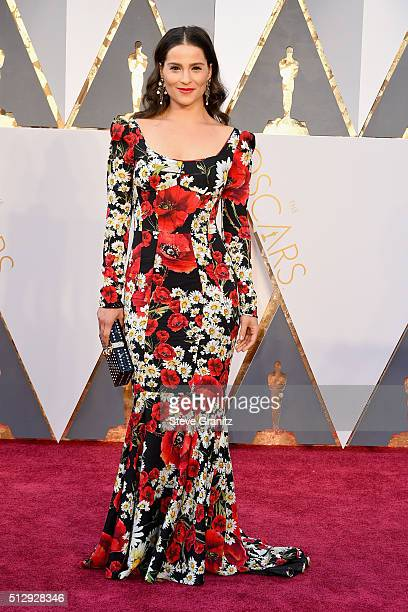 Actress Gianna Simone attends the 88th Annual Academy Awards at Hollywood Highland Center on February 28 2016 in Hollywood California