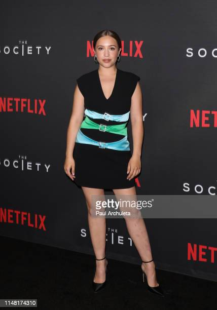 Actress Gideon Adlon attends the special screening for Netflix's The Society season 1 at Regal Cinemas LA Live on May 09 2019 in Los Angeles...