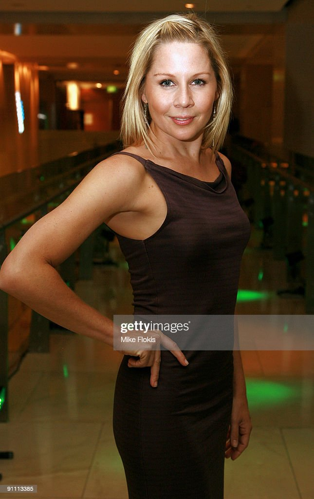 Actress Gigi Edgley arrives at the Zeta Bar's 4th Birthday Anniversary Party at the Hilton Hotel on September 24, 2009 in Sydney, Australia.