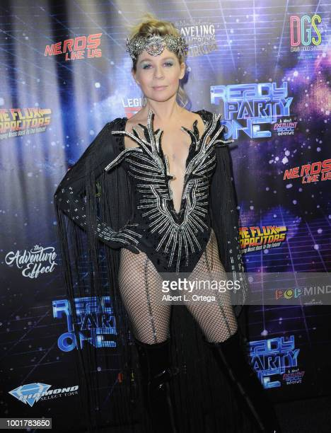 Actress Gigi Edgley attends Ready PARTY One SDCC Preview Night Party held at Fluxx on July 18 2018 in San Diego California