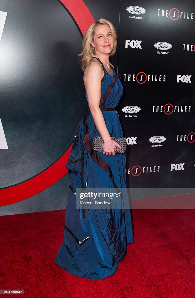 "Premiere Of Fox's ""The X-Files"" - Arrivals"