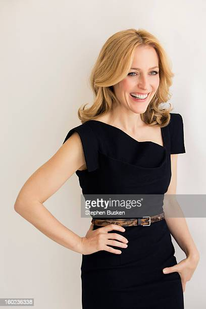 Actress Gillian Anderson is photographed acfor Self Assignment on June 28 2012 in Hollywood California