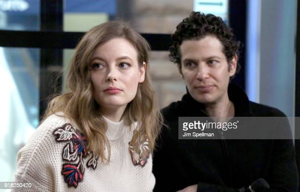 Actress Gillian Jacobs and director Thomas Kail attend the Build Series to discuss 'Kings' at Build Studio on February 14 2018 in New York City
