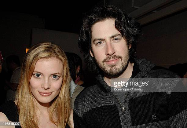 Actress Gillian Jacobs and Jason Reitman director attends The Weinstein Company and Fuji Film party during day four of the 58th Berlinale...