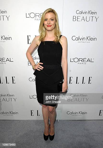 Actress Gillian Jacobs arrives at ELLE's 17th Annual Women in Hollywood Tribute at The Four Seasons Hotel on October 18 2010 in Beverly Hills...