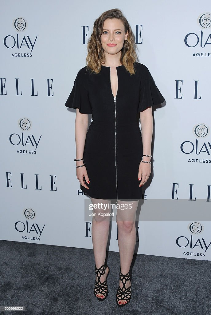 Actress Gillian Jacobs arrives at ELLE's 6th Annual Women In Television Dinner at Sunset Tower Hotel on January 20, 2016 in West Hollywood, California.