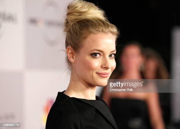 Actress Gillian Jacobs arrives at NBCUniversal/Focus Features Golden Globes Viewing and After Party sponsored by Chrysler held at The Beverly Hilton...