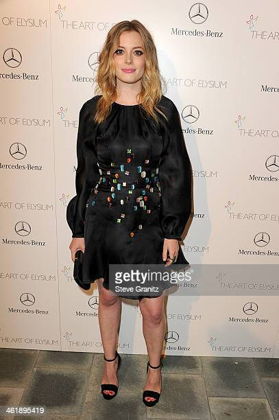 Actress Gillian Jacobs arrives at The Art of Elysium's 7th Annual HEAVEN Gala presented by MercedesBenz at Skirball Cultural Center on January 11...