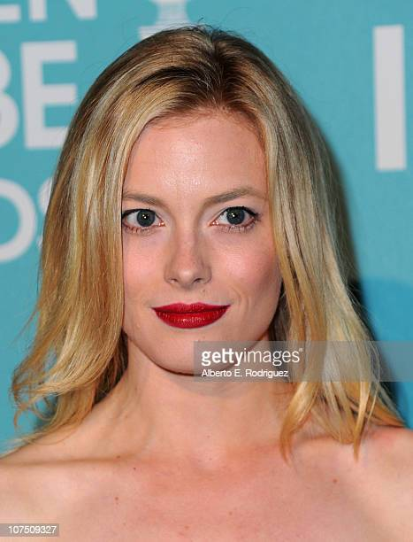 Actress Gillian Jacobs arrives at The Hollywood Foreign Press Associationand InStyle's Miss Golden Globe 2011 introduction on December 9 2010 in West...