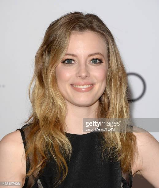 Actress Gillian Jacobs arrives at The Hollywood Reporter's 22nd Annual Women In Entertainment Breakfast at Beverly Hills Hotel on December 11 2013 in...