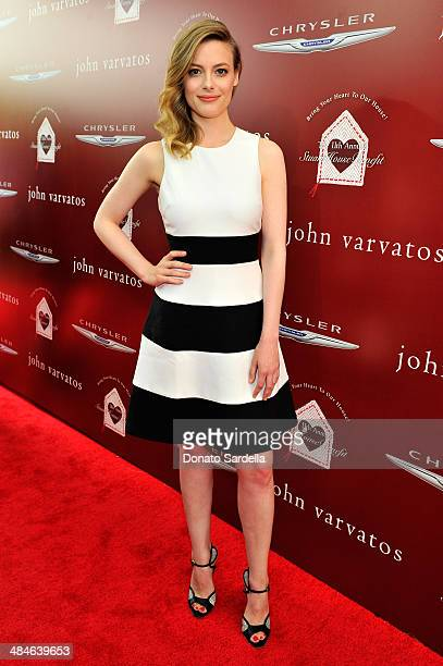 Actress Gillian Jacobs arrives at the John Varvatos 11th Annual Stuart House Benefit at John Varvatos Boutique on April 13 2014 in West Hollywood...