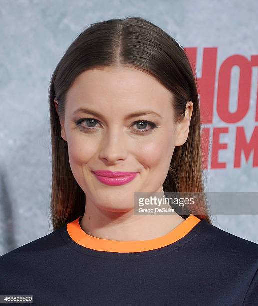 Actress Gillian Jacobs arrives at the Los Angeles premiere of Hot Tub Time Machine 2 at Regency Village Theatre on February 18 2015 in Westwood...