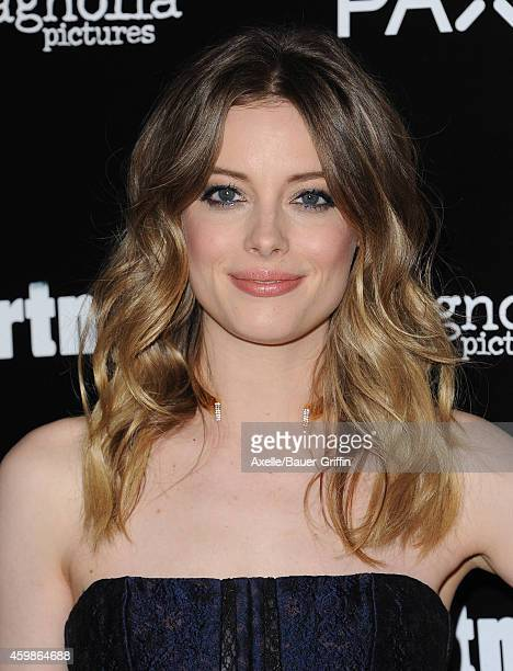Actress Gillian Jacobs arrives at the Los Angeles premiere of 'Life Partners' at ArcLight Hollywood on November 18 2014 in Hollywood California
