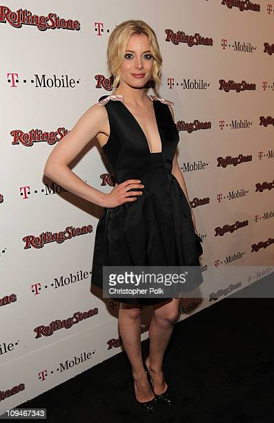 Actress Gillian Jacobs arrives at the Peter Travers and Editors of Rolling Stone Host Awards Weekend Bash at Drai's Hollywood on February 26 2011 in...