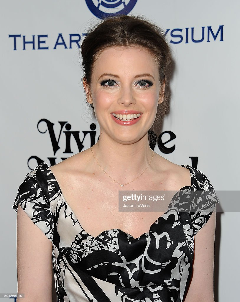 Actress Gillian Jacobs attends Art of Elysium's 9th annual Heaven Gala at 3LABS on January 9, 2016 in Culver City, California.