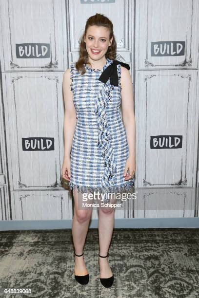 Actress Gillian Jacobs attends Build Series Presents Paul Rust And Gillian Jacobs Discussing 'Love' at Build Studio on March 6 2017 in New York City