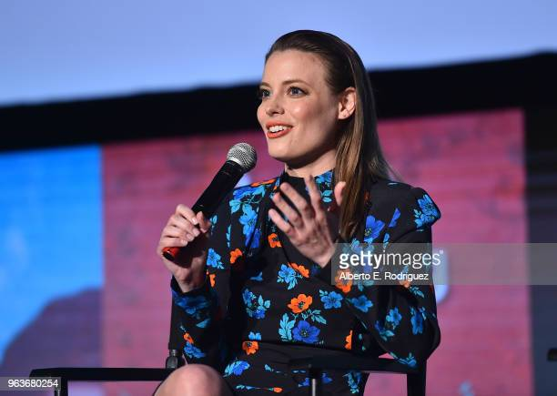Actress Gillian Jacobs attends Comediennes: In Conversation at Netflix FYSEE at Raleigh Studios on May 29, 2018 in Los Angeles, California.
