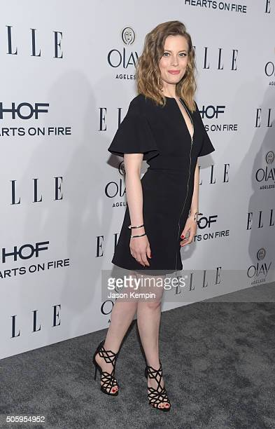 Actress Gillian Jacobs attends ELLE's 6th Annual Women In Television Dinner at Sunset Tower Hotel on January 20 2016 in West Hollywood California