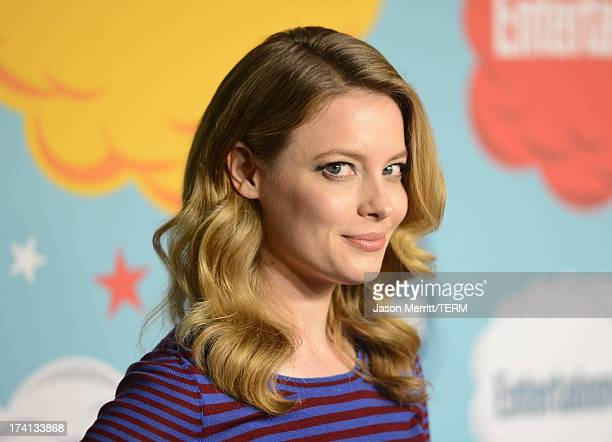Actress Gillian Jacobs attends Entertainment Weekly's Annual ComicCon Celebration at Float at Hard Rock Hotel San Diego on July 20 2013 in San Diego...