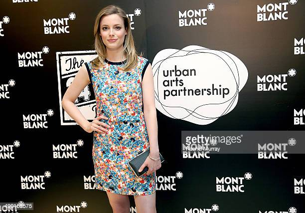 Actress Gillian Jacobs attends Montblanc and Urban Arts Partnership Announce the Cast of the 4th Annual 24 Hour Plays in Los Angeles California on...