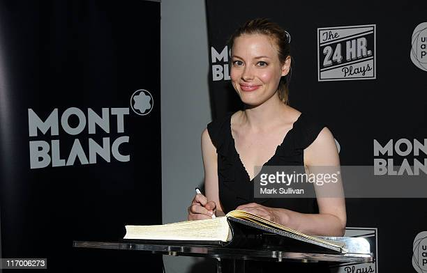 Actress Gillian Jacobs attends Montblanc Presents The 24 Hour Plays LA at The Broad Stage on June 18 2011 in Santa Monica California