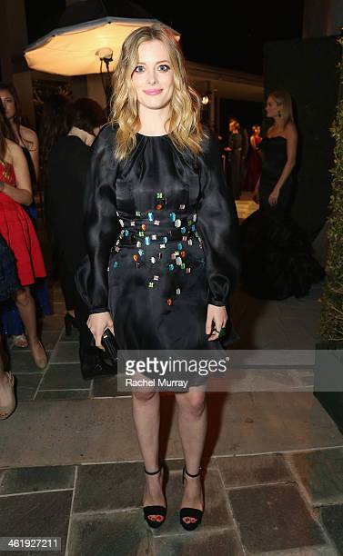 Actress Gillian Jacobs attends PerrierJouet Celebration of The Art of Elysium's 7th Annual HEAVEN Gala presented By MercedesBenz at Skirball Cultural...