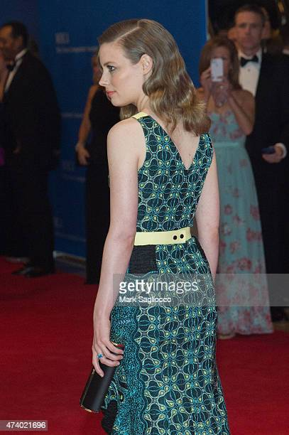 Actress Gillian Jacobs attends the 101st Annual White House Correspondents' Association Dinner at the Washington Hilton on April 25 2015 in...