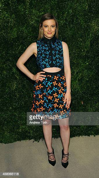 Actress Gillian Jacobs attends the 11th annual CFDA/Vogue Fashion Fund Awards at Spring Studios on November 3 2014 in New York City