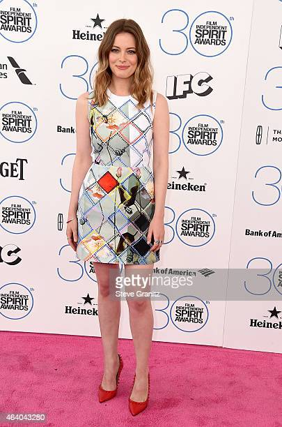 Actress Gillian Jacobs attends the 2015 Film Independent Spirit Awards at Santa Monica Beach on February 21 2015 in Santa Monica California