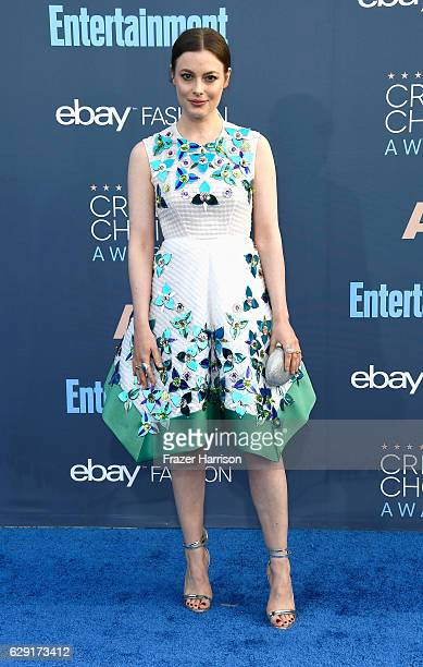 Actress Gillian Jacobs attends The 22nd Annual Critics' Choice Awards at Barker Hangar on December 11 2016 in Santa Monica California