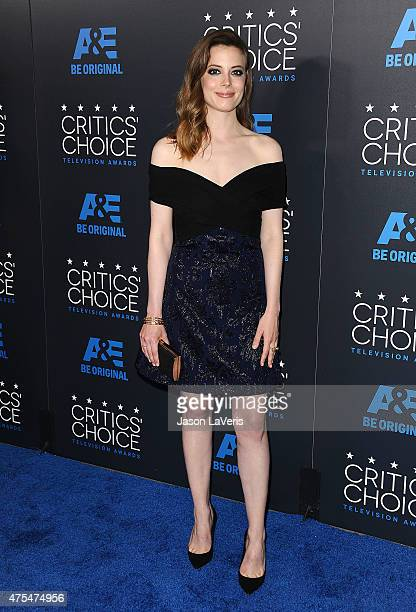 Actress Gillian Jacobs attends the 5th annual Critics' Choice Television Awards at The Beverly Hilton Hotel on May 31 2015 in Beverly Hills California