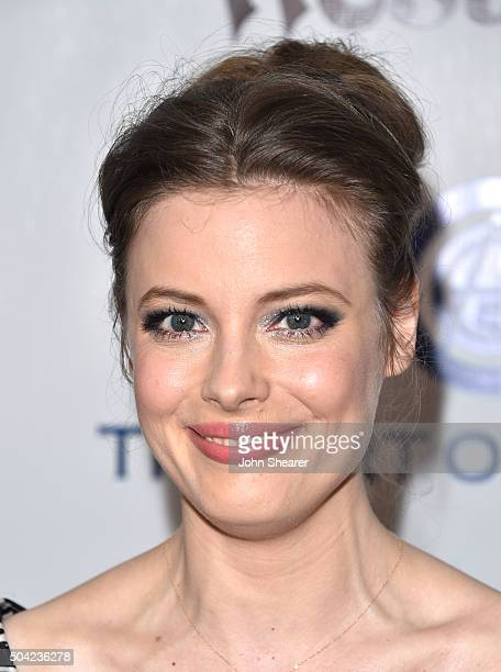 Actress Gillian Jacobs attends The Art of Elysium 2016 HEAVEN Gala presented by Vivienne Westwood Andreas Kronthaler at 3LABS on January 9 2016 in...