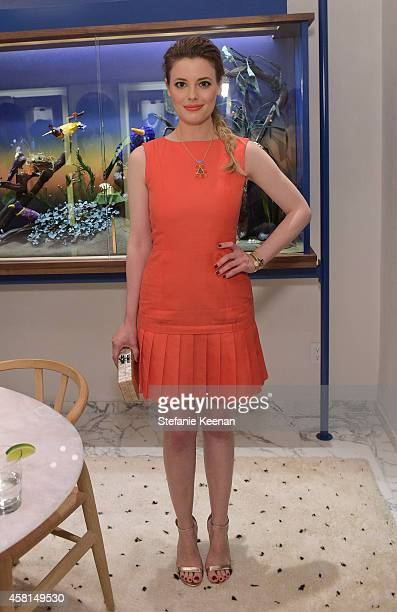 Actress Gillian Jacobs attends the Irene Neuwirth Flagship Grand Opening on October 30 2014 in West Hollywood California