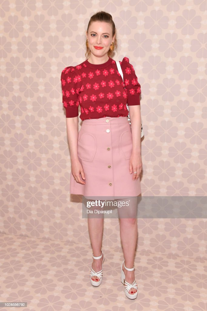 Actress Gillian Jacobs attends the Kate Spade New York Fashion Show during New York Fashion Week at New York Public Library on September 7, 2018 in New York City.