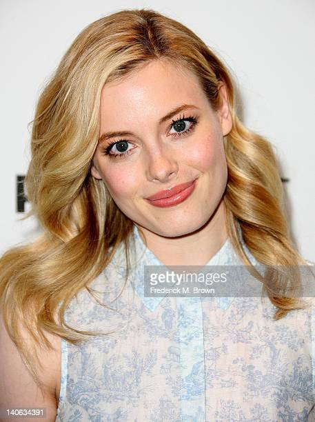 Actress Gillian Jacobs attends The Paley Center For Media's PaleyFest 2012 Honoring 'Community' at the Saban Theatre on March 3 2012 in Beverly Hills...