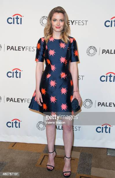 Actress Gillian Jacobs attends The Paley Center For Media's PaleyFest 2014 Honoring Community at Dolby Theatre on March 26 2014 in Hollywood...