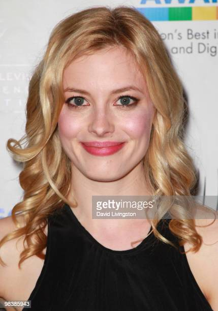 Actress Gillian Jacobs attends the press room during the 31st Annual College Television Awards at Renaissance Hollywood Hotel on April 10 2010 in...