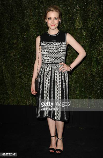 Actress Gillian Jacobs attends the release of 'Find It In Everything' at Chanel Boutique on January 14 2014 in Beverly Hills California