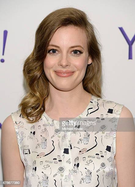 Actress Gillian Jacobs attends the LA Times Envelope Emmy event for 'Community' on Yahoo Screen at ArcLight Sherman Oaks on June 2 2015 in Sherman...