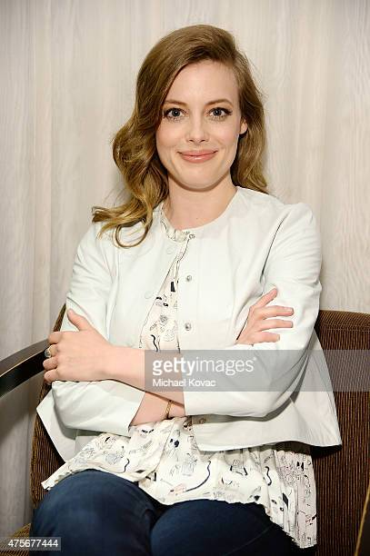 Actress Gillian Jacobs attends the LA Times Envelope Emmy event for Community on Yahoo Screen at ArcLight Sherman Oaks on June 2 2015 in Sherman Oaks...