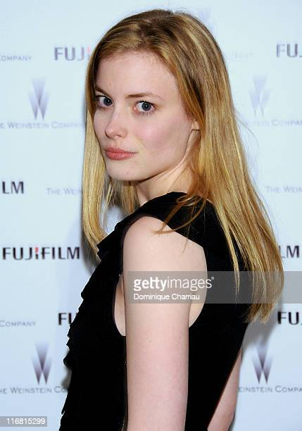 Actress Gillian Jacobs attends The Weinstein Company and Fuji Film party during day four of the 58th Berlinale International Film Festival on...