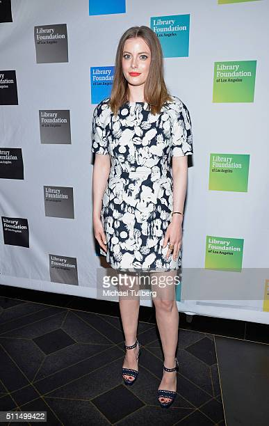 Actress Gillian Jacobs attends the Young Literati 8th Annual Toast at Avalon on February 20 2016 in Hollywood California