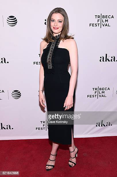 Actress Gillian Jacobs 'Dean' Premiere during the 2016 Tribeca Film Festival at SVA Theater 1 on April 16 2016 in New York City