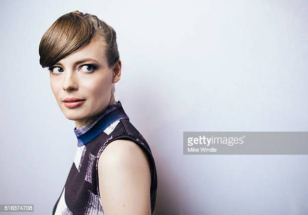 Actress Gillian Jacobs is photographed for Portrait Session on March 15 2016 in Austin Texas