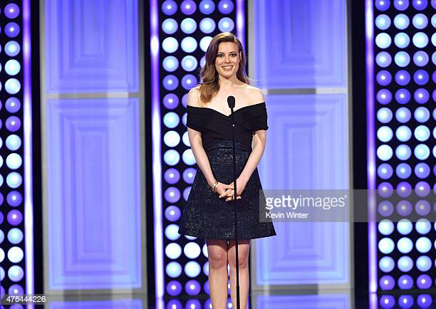 Actress Gillian Jacobs speaks onstage at the 5th Annual Critics' Choice Television Awards at The Beverly Hilton Hotel on May 31 2015 in Beverly Hills...